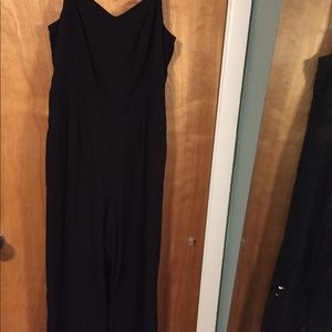 Torrid wide legged jumpsuit in black